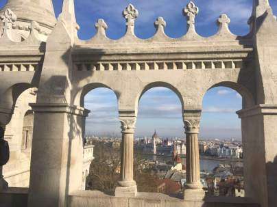 View from Fishermans BAstion